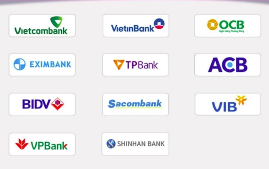 Các ngân hàng liên kết với ví Momo miễn phí